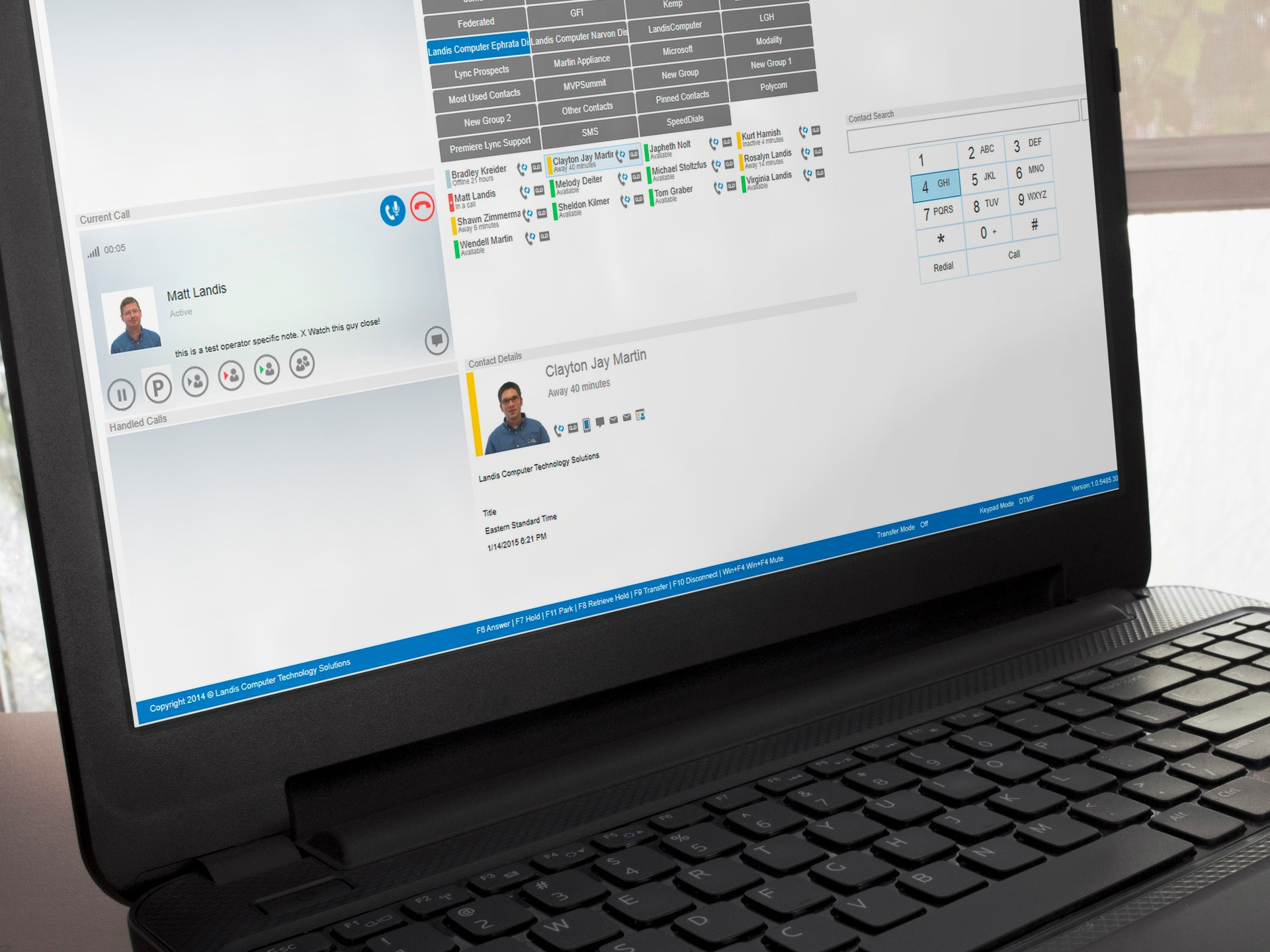 Powerful: Enterprise Features Available in a Fresh, Clean User Interface. Attendant Pro design is clean and fresh but includes advanced features like centralized management using standard Windows Server Group Policy Objects, enables communication enabled business processes in mere minutes and all of Skype for Business functionality is maintained.