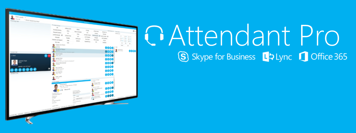 Attendant Console for Skype for Business & Office 365 Cloud PBX
