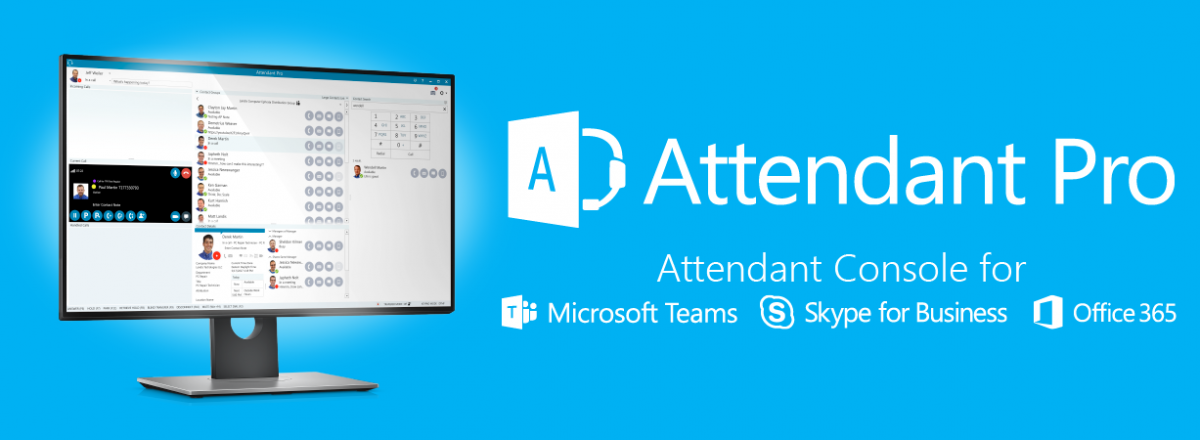 Attendant Console for Microsoft Teams & Skype for Business