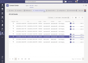 Landis Policy Call Recording for Microsoft Teams