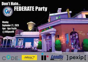 Microsoft Ignite 2020 CommsvNext Federate Party